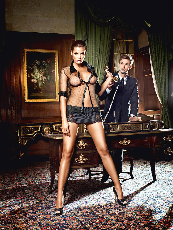 Секретарша в прозрачном белье 2 фотография