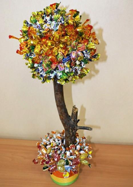 Деревья для подарка своими руками
