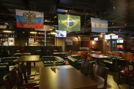 """""""Торнадо """"- современная сеть спорт-баров, полюбившаяся болельщикам своей..."""