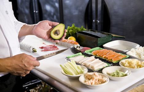 Японская кухня мастер класс