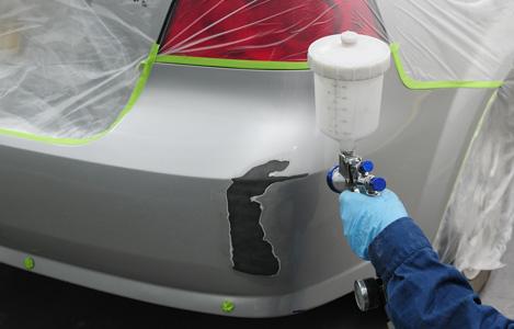 Покраска автомобиля своими руками с переходом