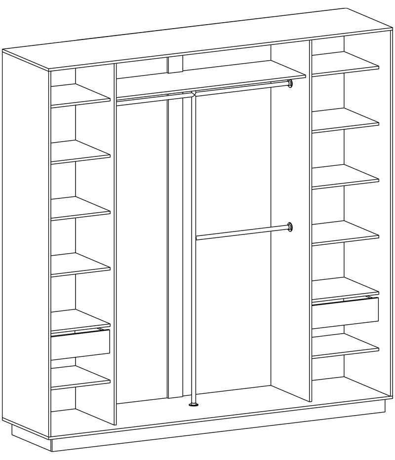 Скидки, изготовление шкафа-купе, кухонного гарнитура, гардер.