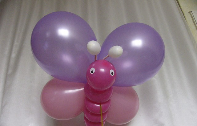 Сделать поделки из шаров