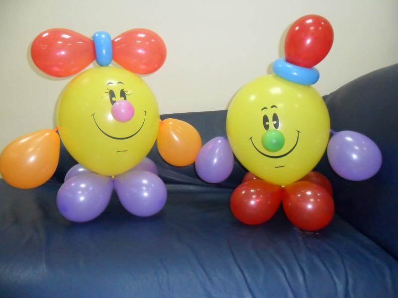 Человечки из шариков своими руками 11