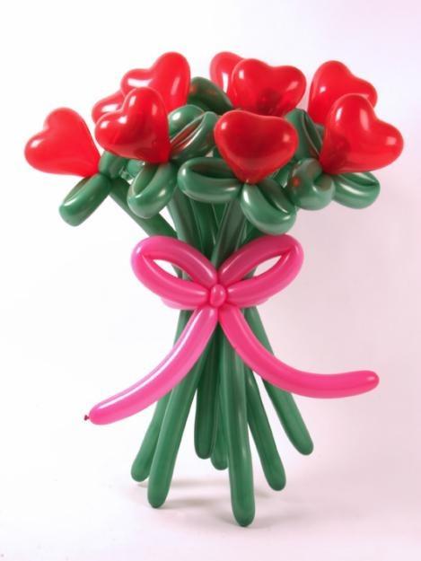 Цветы из длинных шариков купить в ставрополе где заказать мягкие игрушки для букетов