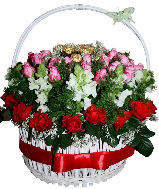 Цветы с доставкой в Якутске. Доставка цветов на заказ