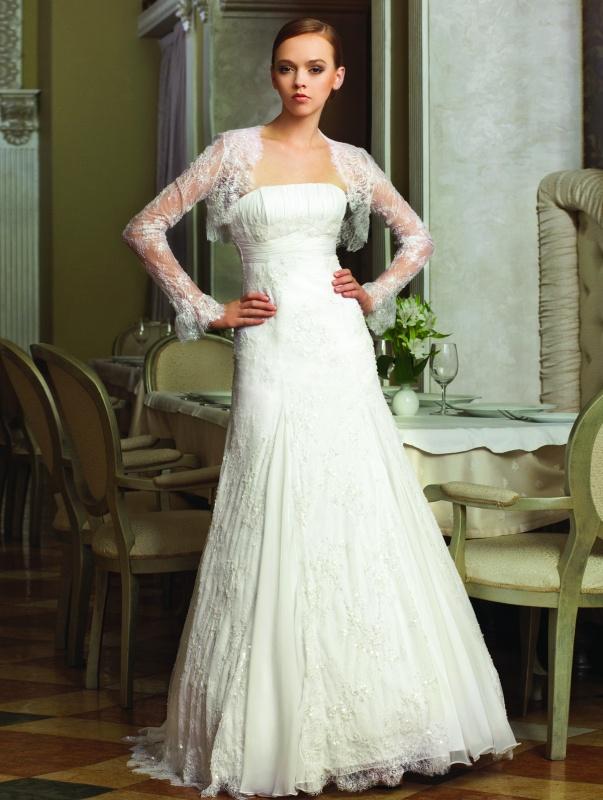 Новая коллекция свадебных платьев 2012.