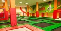 До2часов свободных прыжков для одного или двоих всети профессиональных батутных арен Just Jump. <b>Скидкадо55%</b>