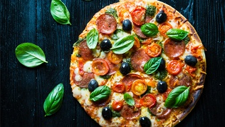 Большая пицца сдоставкой