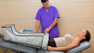 Прессотерапия, массаж