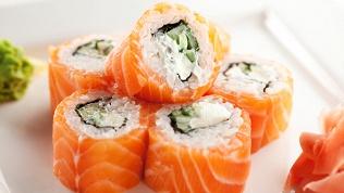 Суши, роллы инапитки
