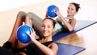 Онлайн-занятия фитнесом