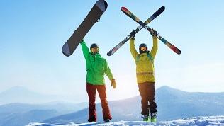 Прокат сноуборда или лыж