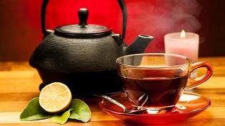 Паровой коктейль с чаем