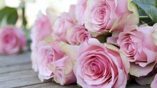 Букет изкенийских роз