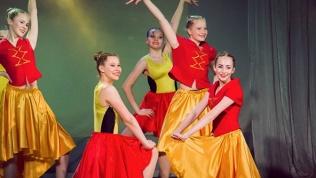 Занятия танцами для детей