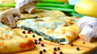 Пицца, осетинские пироги