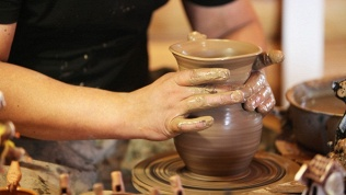 Посещение музея керамики