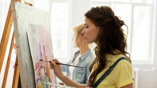 Занятия живописью