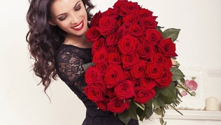 Букет изроссийских роз