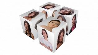 Открытка-кубик