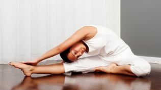 Стрейтчинг, йога