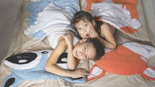 Спальник, плед-подушка