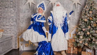Выезд надом Деда Мороза
