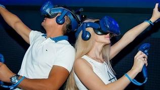 Игра в VR-шлеме
