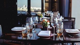 Ужин в кафе «Медальон»
