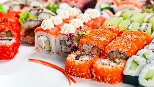 Суши, роллы и сеты