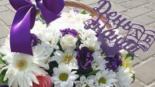 Букет, цветочная коробка