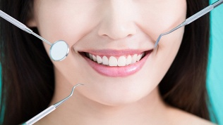 Чистка, полировка зубов