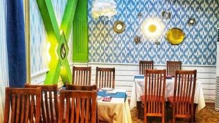 Узбекский ужин