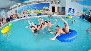 Посещение аквацентра