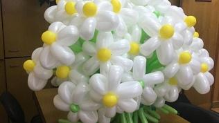 Букеты извоздушных шаров