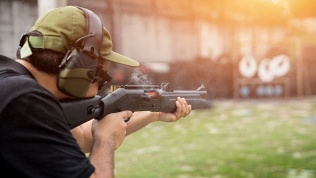 Занятия стрельбой