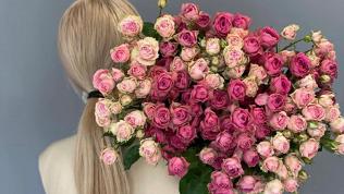 Букеты роз, орхидей