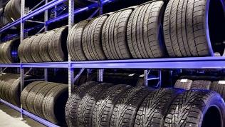 Хранение шин или колес