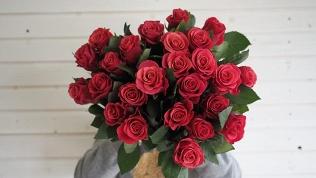 Букеты изэквадорских роз