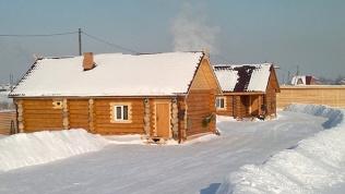 Русская баня надровах