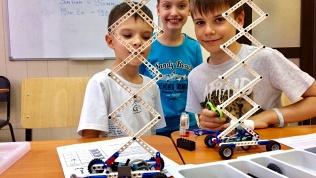Занятия робототехникой