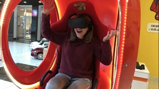 Посещение VR-капсулы