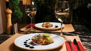 Ужин вкафе «Лисья нора»