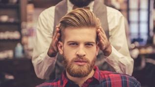 Мужская стрижка ибритье