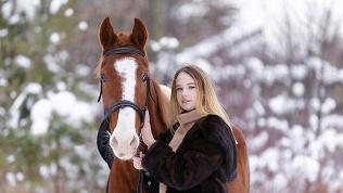 Посещение конюшни