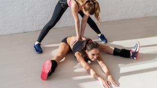 Занятия стретчингом