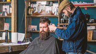 Стрижка, уход за бородой