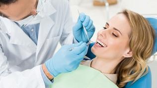 УЗ-чистка, лечение зубов