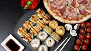 Суши-сеты, пицца